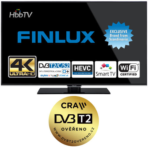 Finlux TV49FUB8061 - UHD SAT/ T2 SMART WIFI